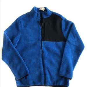 Aeropostale sweater coat w zipper fleece jacket M